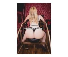 MIRA MI WEB Y VIDEO EN. https://escortensantiagodechile.blogspot.com Estupenda Rubia Ardiente