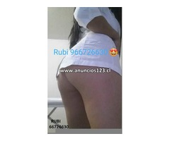 RUBI LINDA Y SENSUAL MASAJISTA CHILENA  INDEPENDIENTE  966726630